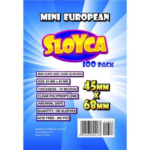 SLOYCA Koszulki Mini European (45x68mm) 100 szt.