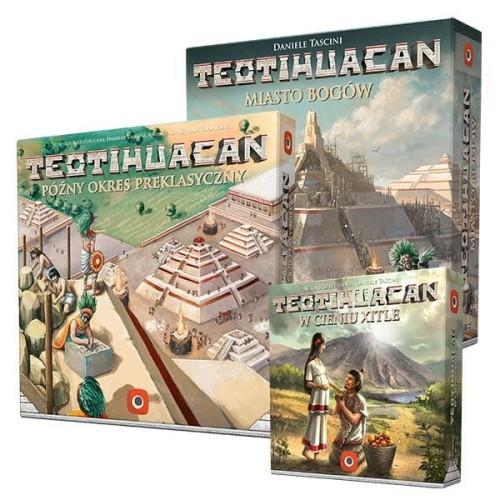 Zestaw: Teotihuacan: Miasto Bogów + Późny Okres Preklasyczny + W Cieniu Xitle