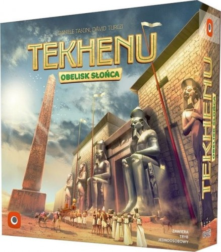 Tekhenu - Obelisk Słońca